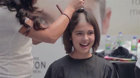 hot barbershop korean beautiful girls headshave youtube