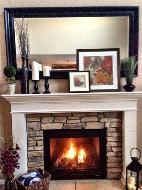 ideas  fireplace mantel decorations