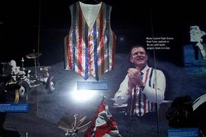 The vest that Gene Kranz wore on final Apollo Mission ...