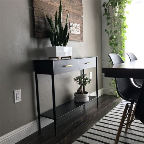 metalwork console hot rolled steel finish   home
