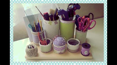 ladari fai da te riciclo porta oggetti da scrivania fai da te desk organizer