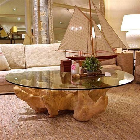 baumstamm tisch wohnzimmer baumstamm tisch originelle designs