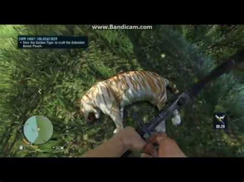 Far Cry Rare Golden Tiger Hunt Youtube