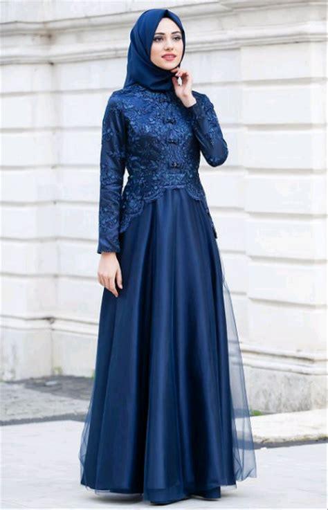 jual abaya gamis maxi dress gaun pesta muslim brokat full