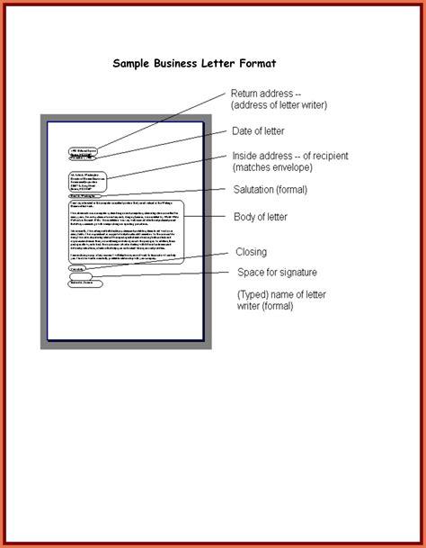 writing a business letter new formal business letter format aguakatedigital 11794