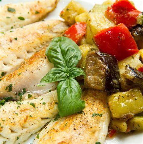 cuisine dorade recette filets de dorade aux aubergines