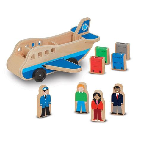 Melissa & Doug Wooden Airplane Toy Set  Ebay