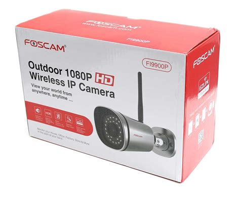 Foscam Ip Review Foscam Fi9900p Outdoor 1080p Wireless Ip Review