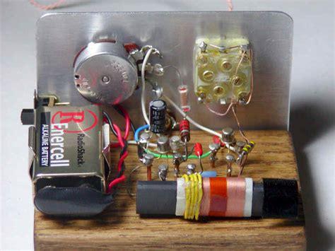 crystal radio circuits