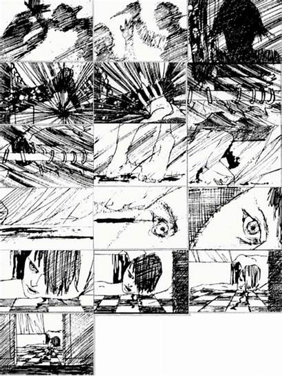 Storyboards Saul Bass Psycho Shower Thisisnthappiness Scene