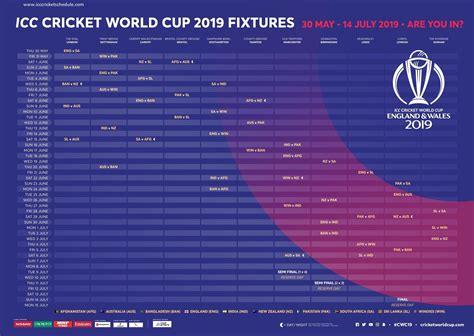 Sri lanka, india, west indies, new zealand, afghanistan, pakistan, australia, south africa. ICC World Cup 2019 Schedule, Team, Venue, Time Table, PDF ...