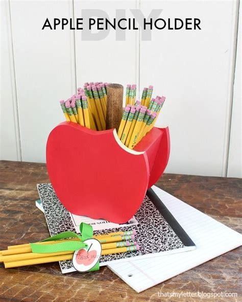 diy apple pencil holder crafts pencil holder