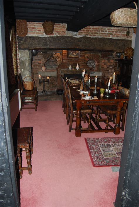 In at the Ground Floor: Exploring a 17th Century Home in