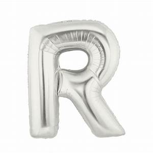 silver letter r balloon silver letter balloon 40 With silver letter balloons