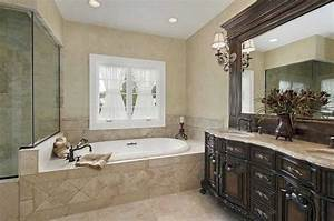 Small master bathroom remodel ideas with classic design for Master bathrooms designs