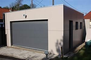 Garage En Bois Toit Plat : garage ossature bois et inspirations collection et ~ Dailycaller-alerts.com Idées de Décoration