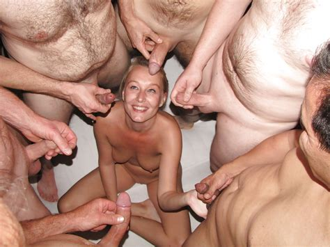 Dutch Blonde Amateur Milf Gangbang With Many Facials Pics Xhamster