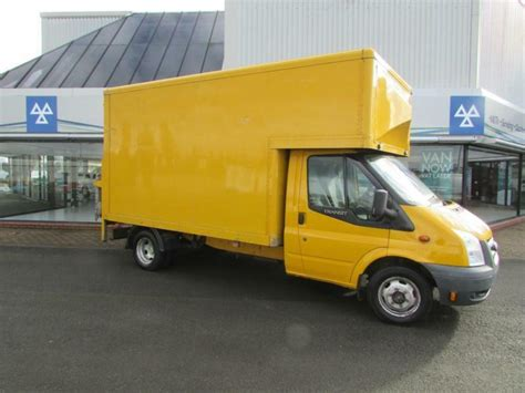 ford transit luton lift 2003 yellow only 110662