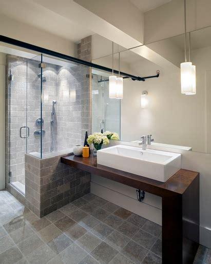 Contemporary Small Bathroom Ideas by Contemporary Bathroom Pedant Lighting Ideas For Small