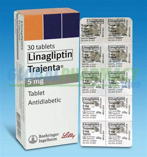 tradjenta linagliptin mg  pills generic global