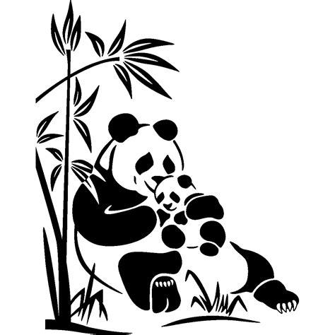 stickers ours chambre bébé stickers muraux animaux sticker doux ours panda