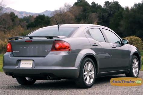 dodge avenger  car review video autotrader