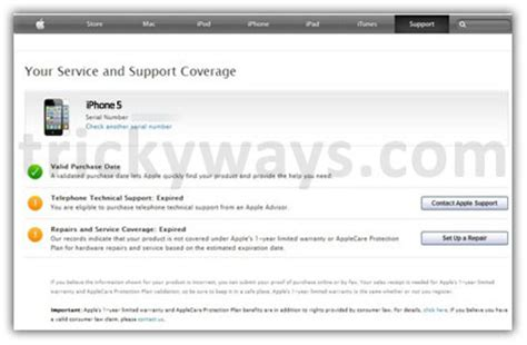 iphone warranty check how to check iphone warranty status ios Iphon