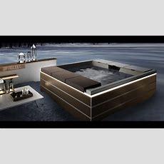 Luxus Design Whirlpool  Optirelax  Im Boden Eingebauter