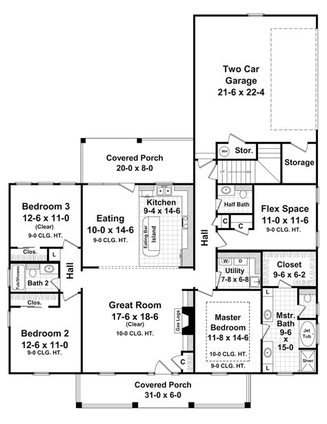 house plans and floor plans country house plan 141 1061 3 bedrm 1800 sq ft home plan
