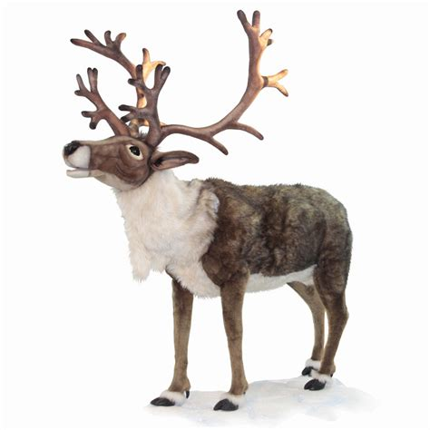 hansa ride on nordic reindeer christmas night inc
