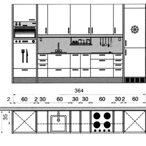 schema de cuisine gratuit plan cuisine gratuit 20 plans de cuisine de 1 m2 à 32 m2