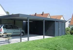 Doppelcarport Mit Abstellraum : carport mit abstellraum metall my blog ~ Articles-book.com Haus und Dekorationen