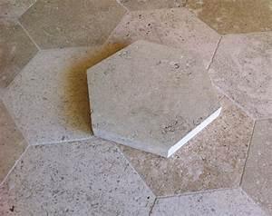 Carrelage Imitation Tomette Hexagonale : top tomettes hexagonales en pierre de bourgogne with ~ Zukunftsfamilie.com Idées de Décoration