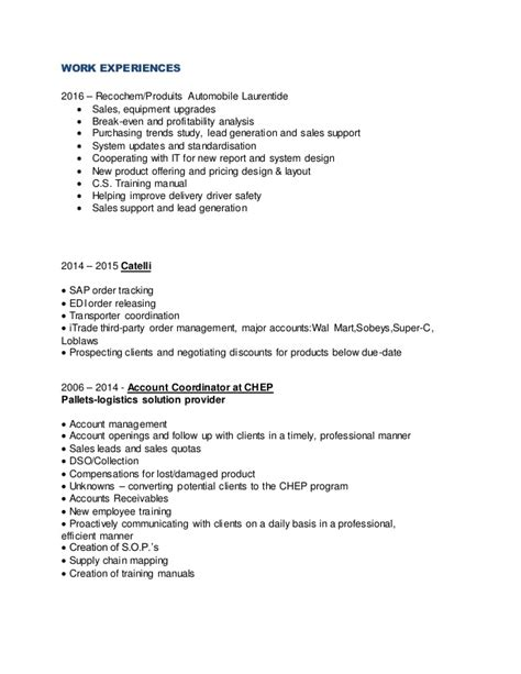 sap sd edi resume 28 images sap edi resume accounting