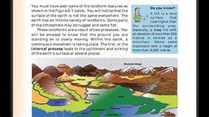 Chapter 6 1 Major Landforms Of The Earth