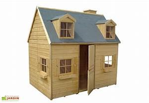 Maison Pour Enfant : maison pour enfant bois rosalie cerland ~ Teatrodelosmanantiales.com Idées de Décoration