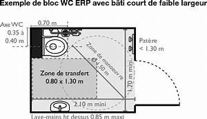 Cuvette Wc Pmr : pack erp avec cuvette suspendue standard p9900 ~ Premium-room.com Idées de Décoration