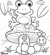 Frog Coloring Printable Toad Spring Bubakids Sheets Getdrawings Kindergarten Cartoon Frogs Colouring Monkeys Silly Pintar Sheet Einstein Super Desenhos Para sketch template