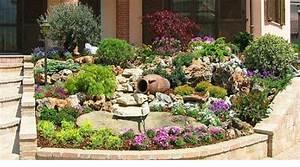 Parterre De Fleur Avec Cailloux : astuces pour cr er un beau jardin de rocaille blog de ~ Melissatoandfro.com Idées de Décoration
