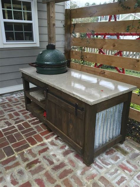 big green egg table plans with doors big green egg the perfect table on pinterest discover