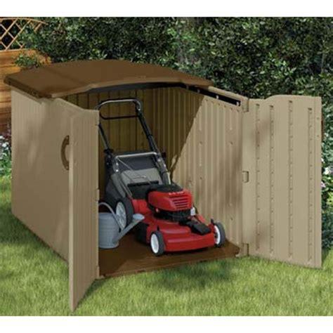 suncast glidetop storage shed garage organizers garage organization garage storage