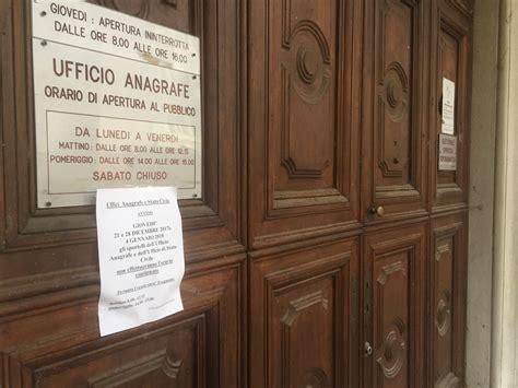 Ufficio Anagrafe Biella Due Gioved 236 Senza Orario Continuato In Alcuni Uffici