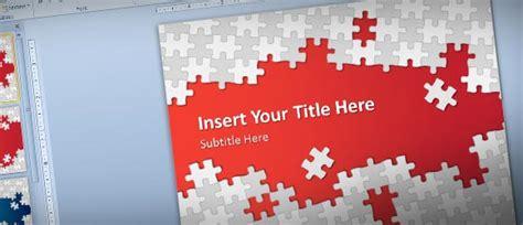 downloaden sie kostenlose puzzle teile powerpoint vorlage