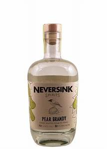 Neversink Spirits Pear Brandy – New York Craft Spirits