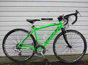 Neon Green Viking Road Bike Size Small For Sale in