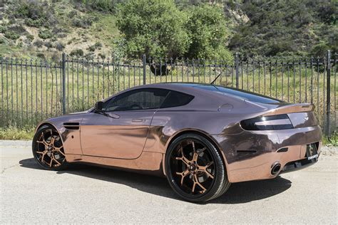 rose gold maserati car rose gold vantage