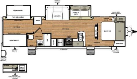 travel trailer floor plans with outdoor kitchen new 2017 forest river salem hemisphere 312qbud travel