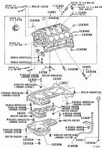 Toyota Sequoia Block Sub-assembly  Cylinder  Engine