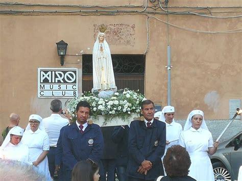 morganti prossima alatri la madonna di fatima in pellegrinaggio a piazza