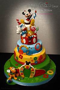 Antonella Di Maria Torte & Design | Mickey mouse birthday ...